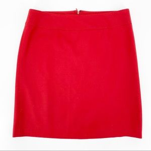 NWT Talbots Red A-Line Career Skirt Womens Petite